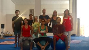 Yantra Yoga at Dzamling Gar