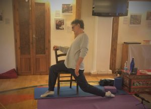 Yantra Yoga on a Chair… and not only