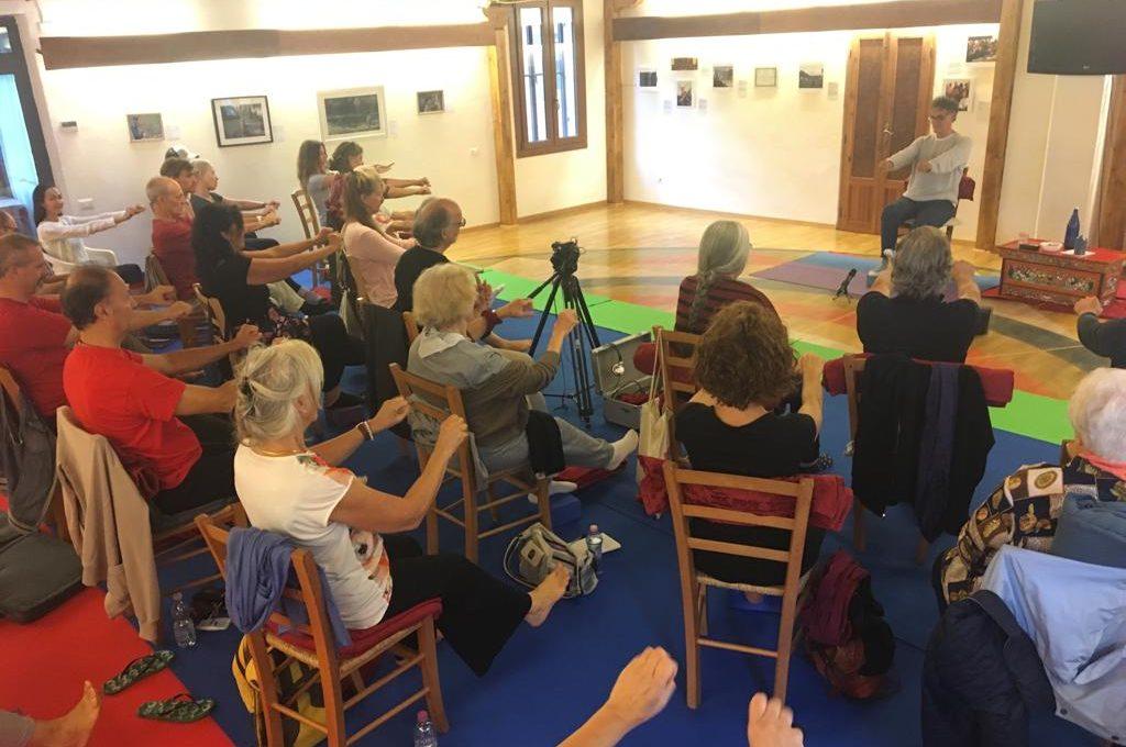 yantra yoga chair