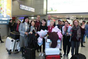 International Cultural Ati Yoga Association Trip to China
