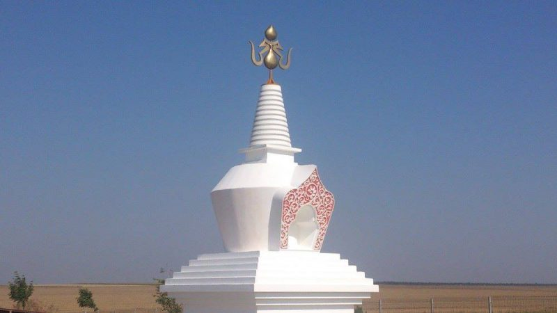 second stupa merigar east