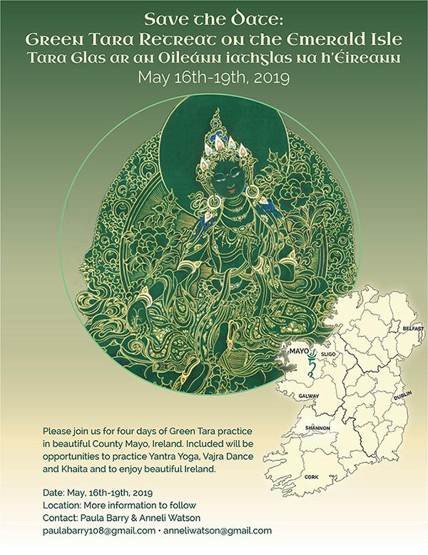Green Tara in Ireland