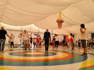 Training Course in the Dance of the Song of the Vajra at Dzamling Gar