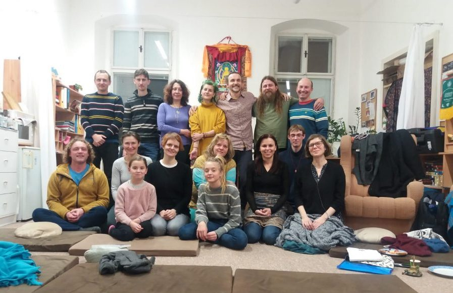 Guru Yoga and Semdzins in Olomouc, Czech Republic