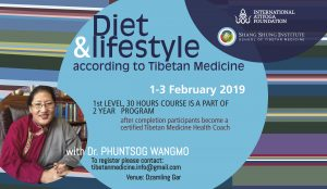 Tibetan Medicine Diet and Lifestyle Program