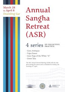 IDC Annual Sangha Retreat (ASR)