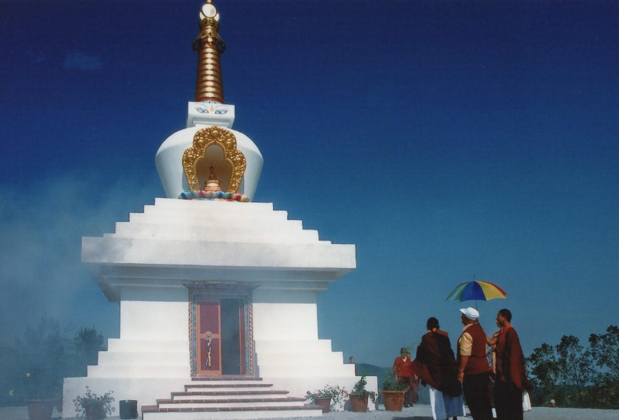 construction great stupa