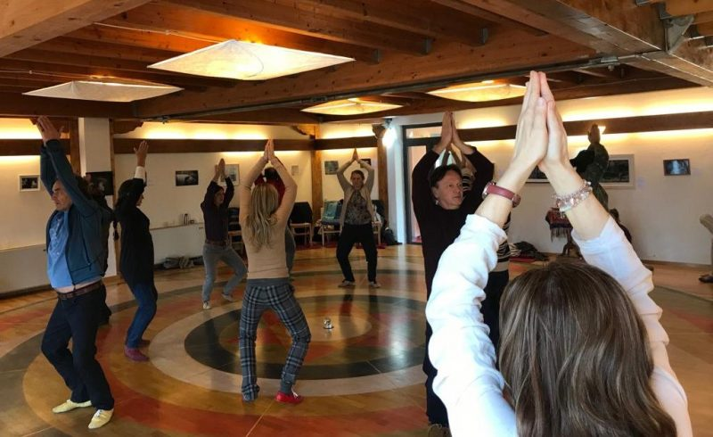 dance vajra deepening course