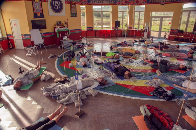 South Kunsangar Practice Retreat