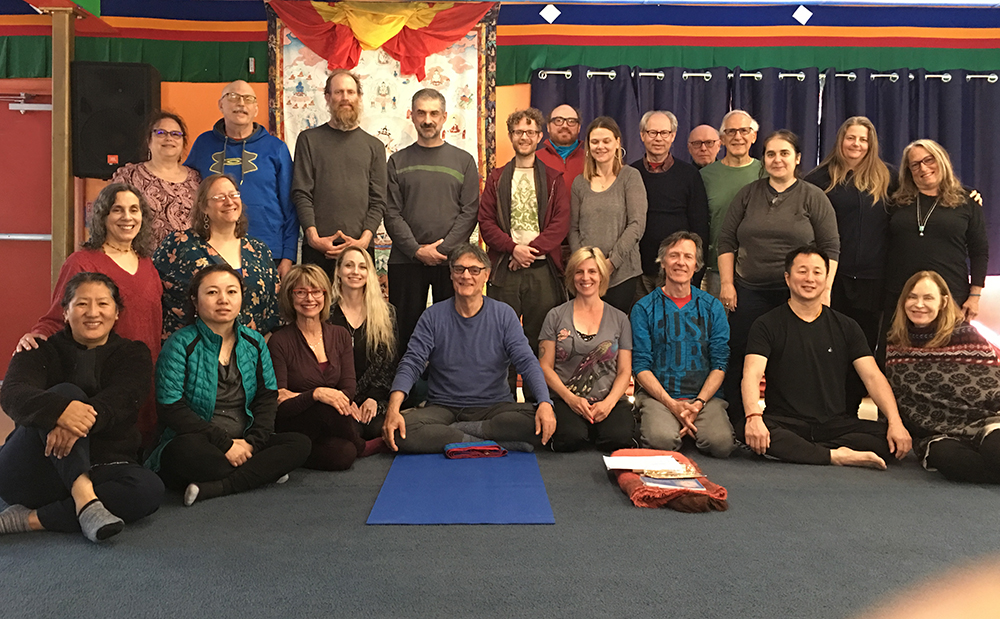 Yantra Yoga, Kumbhaka and the Chair at Tsegyalgar East