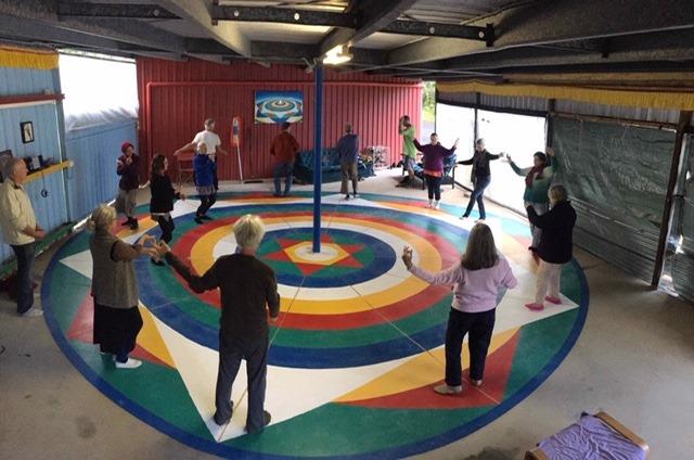 vajra dance collective practice