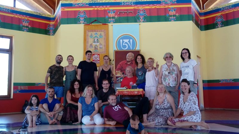 Merigar East Green Tara Retreat with Oliver Leick