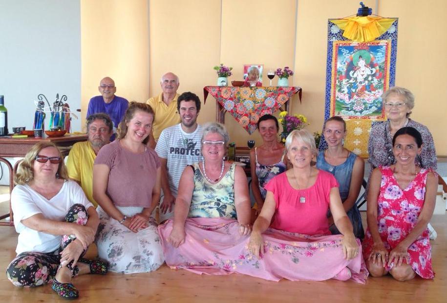 Gomadevi Retreat at Dzamling Gar