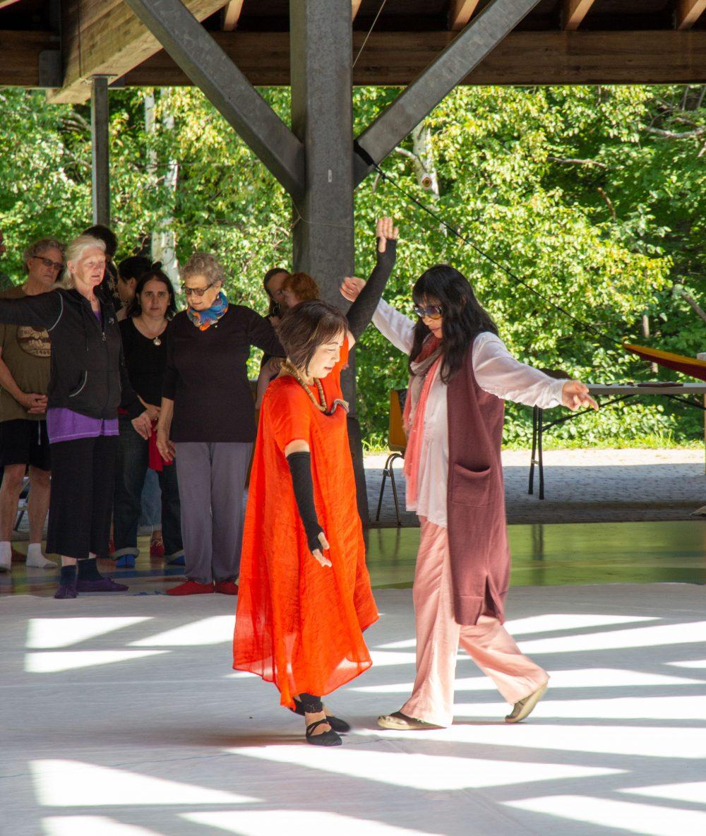 Dance, Dance, Dance on Khandroling, Tsegyalgar East
