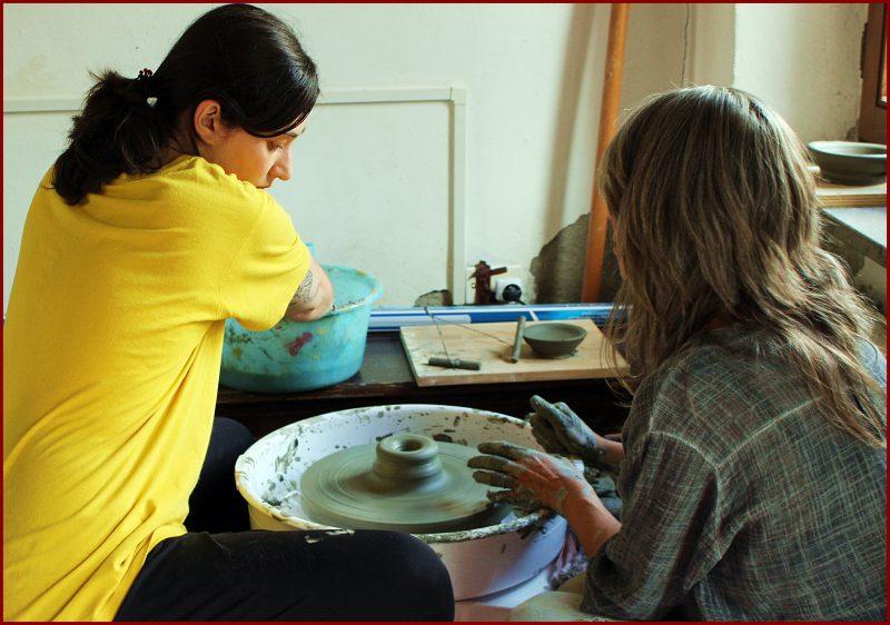ceramic courses merigar