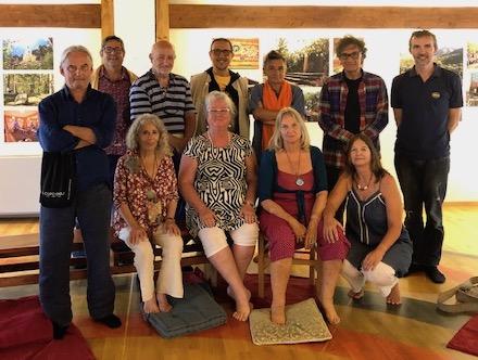 Santi Maha Sangha Instructors Meeting at Merigar West