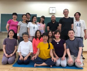 Munselling – Yantra Yoga in Kyoto and Tokyo in Autumn 2019