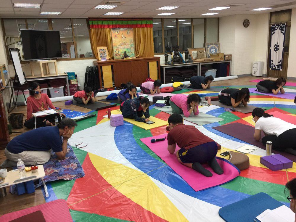 Harmonious Breathing Teacher Training at Gephelling, Taipei