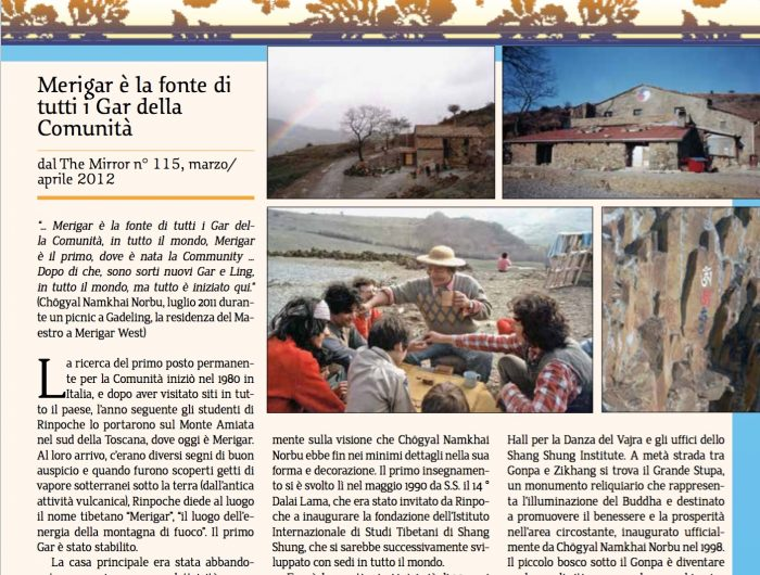 the mirror edizione italiana
