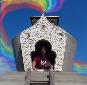 Finishing the Second Stupa and Summer at Merigar East