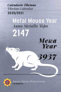 The Tibetan Calendar for the Year of the Metal Mouse (2020-2021)