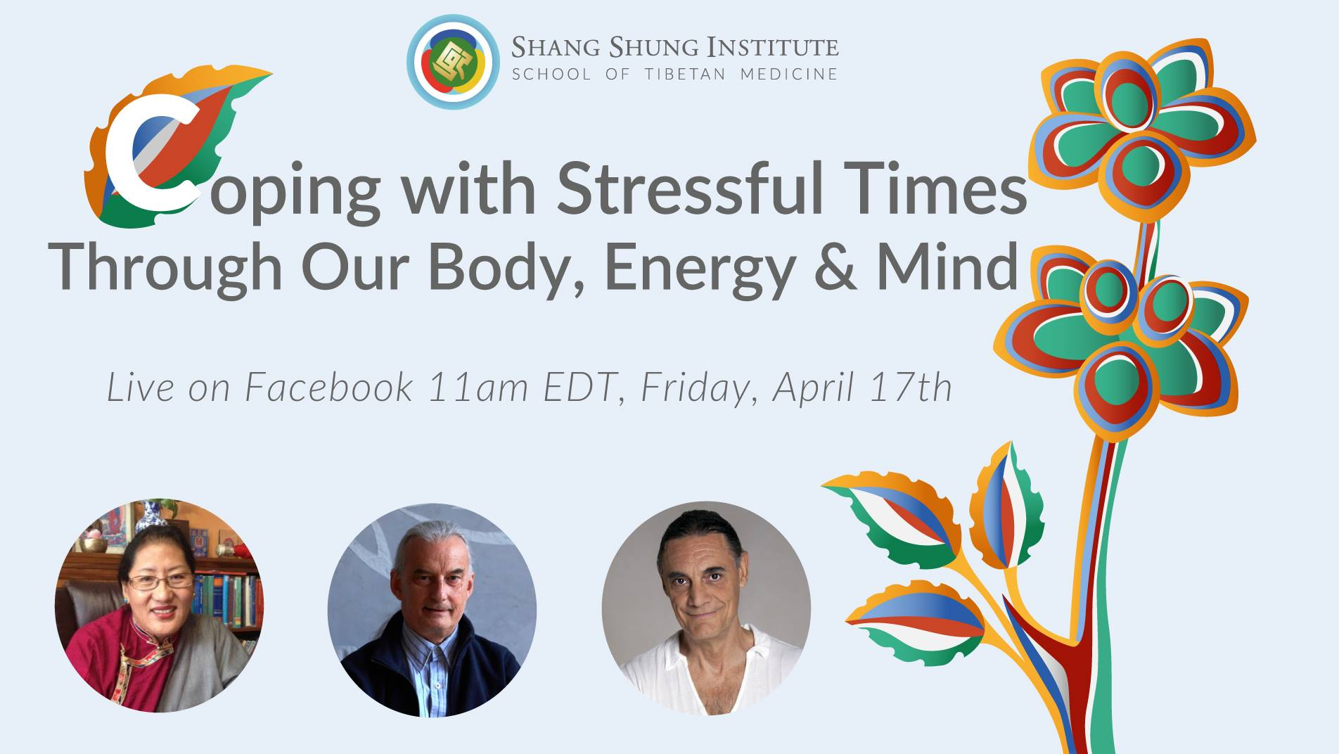 TOMORROW: Free Live Webinar: Insights and Strategies for Coping with Stress.