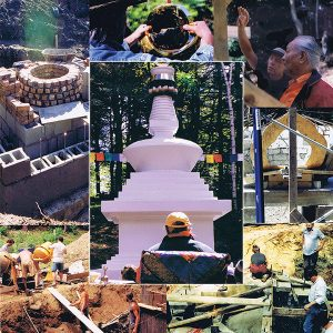 Khandroling Stupa Restoration And Landscaping Project, Tsegyalgar East, USA