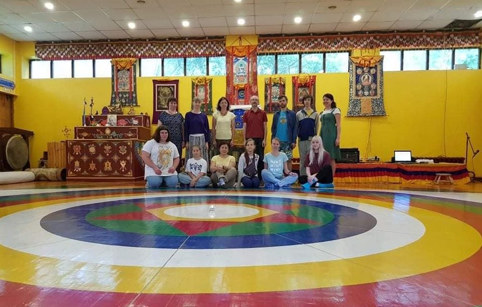 Vajra Dance Retreat in Kunsangar North