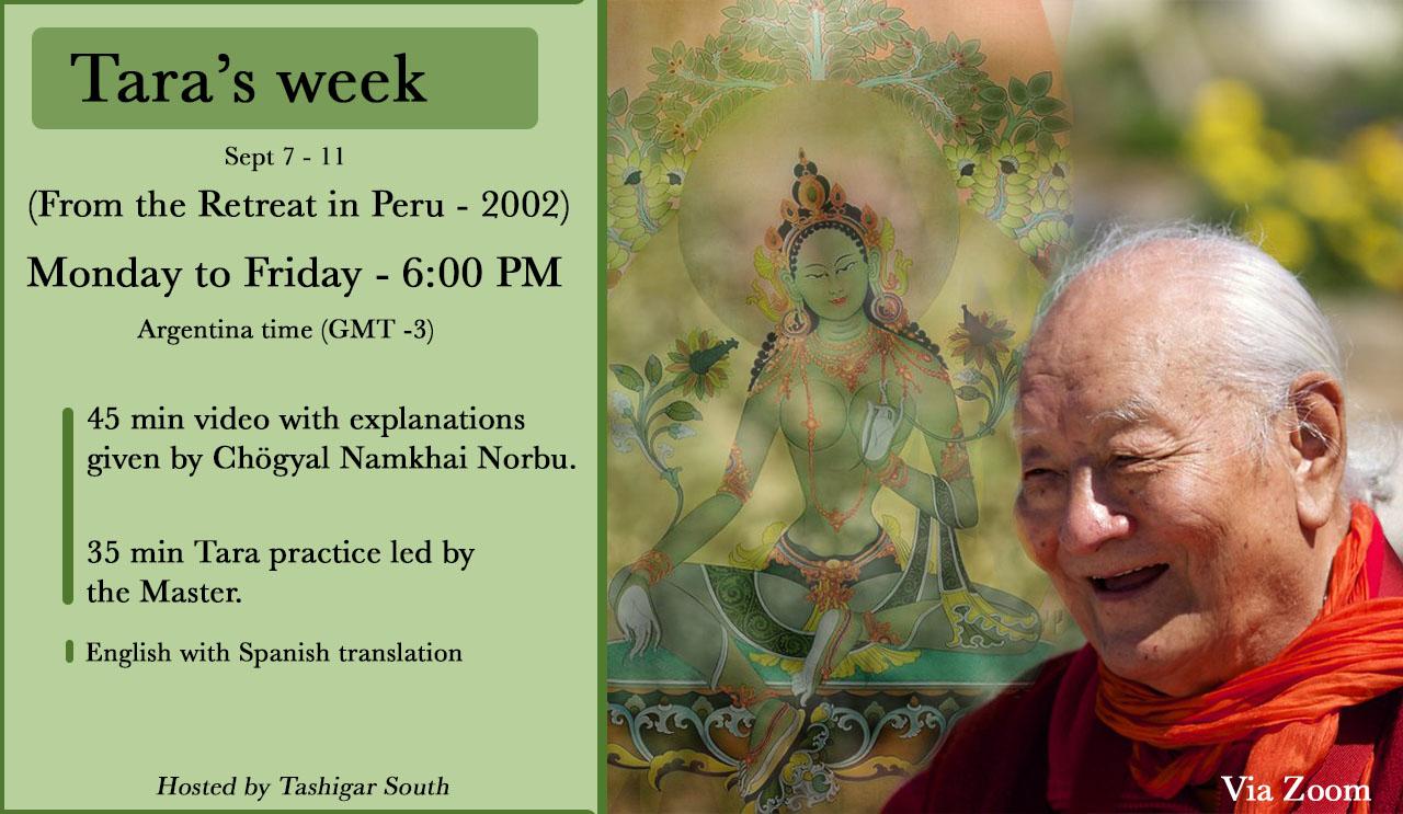 Replay of Chogyal Namkhai Norbu's Retreat on Green Tara