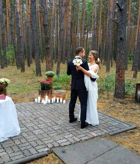 Married – Liliya Sashkova and Alexander Zatirka