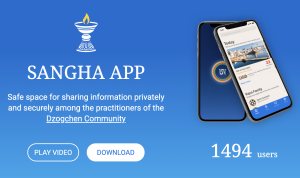 Sangha App Available in Italian and Spanish Language Now