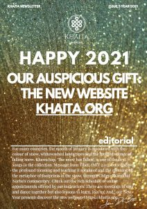 Khaita Newsletter: Happy 2021 and Introducing New Website!