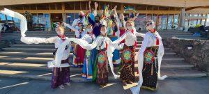 Losar Khaita Performance at Dzamling Gar