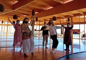 The Vajra Dance That Benefits Beings At Dzamling Gar
