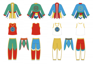 New Orders for Vajra Dance Costumes
