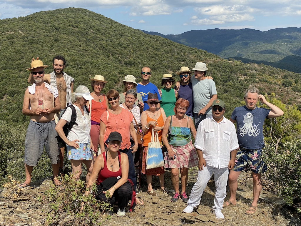 Sachad Tibetan Geomancy Course at Dejamling, France