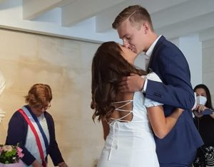 Married – Zoe Sued and Pierre Madic
