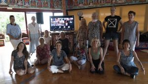 First Course of the Khaita Dance School at Merigar