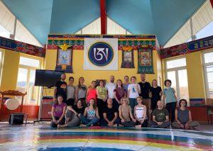 Yantra Yoga at Kunsangar South