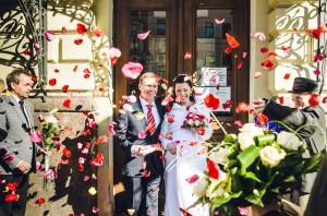 Married in St Petersburg, Russia