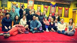 SMS and Yantra Yoga retreat