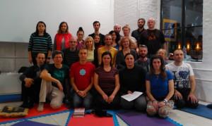 Yantra Yoga at Kunsangar
