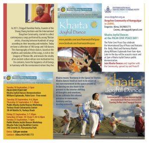 Khaita Joyful Dance in Australia in September 2016