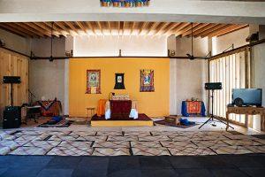 Tsegyalgar West Paint and Decoration of the Gönpa