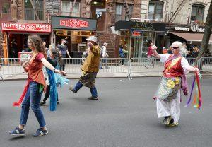 Khaita in the NYC Dance Parade