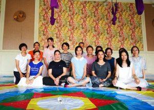 Recent Samtengar Courses in China
