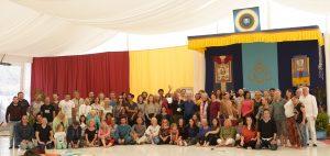 End of the Year Retreat at Dzamling Gar