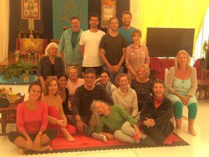 Breathing for Presence and Wellness at Dzamling Gar