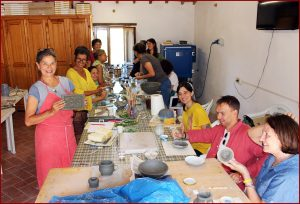 First Ceramic Courses at Merigar, 12-14 and 19-21 July 2019