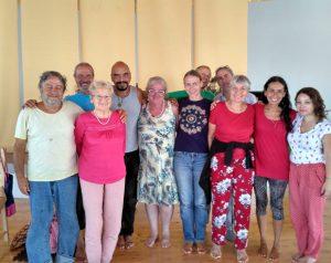 Santi Maha Sangha and Vajra Dance Retreat at Dzamling Gar